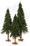 Kerstboom op stam