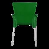 Bella stapelstoel van Lesli living donker groen_