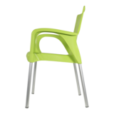 Bella stapelstoel van Lesli living lime_
