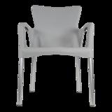 Bella stapelstoel van Lesli living grijs_