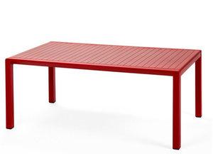 Nardi Aria loungetafel 100x60 rood