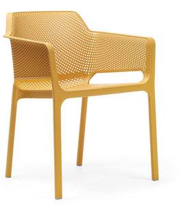 Nardi kunststof stoel Net kleur: senape