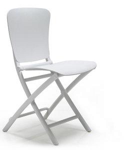 Nardi kunststof klapstoel Zac Classic kleur: wit
