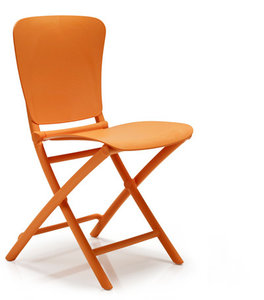 Nardi kunststof klapstoel Zac Classic kleur: oranje