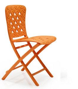 Nardi kunststof klapstoel Zac Spring kleur: oranje