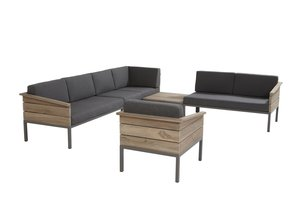 4 seasons outdoor loungeset Cava teak III