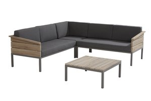 4 seasons outdoor loungeset Cava teak IV
