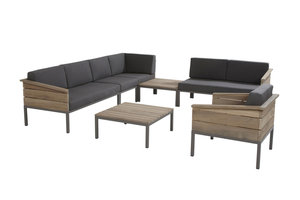 4 seasons outdoor loungeset Cava teak V