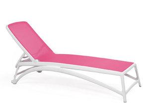 Nardi Atlantico ligbed van Nardi in de kleur: wit/rosa