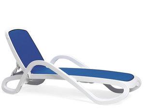 Nardi Alfa ligbed Nardi in de kleur wit/blauw
