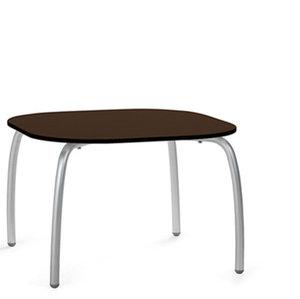 Loto relax tafel vierkant 60 cm van Nardi kleur caffe