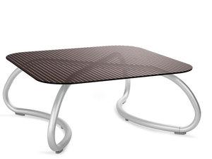 Loto relax tafel vierkant 95 cm van Nardi kleur caffe
