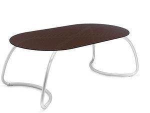 Loto dinner tafel ovaal 190 cm van Nardi kleur caffe