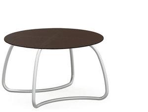 Loto dinner tafel rond 120 cm van Nardi kleur caffe
