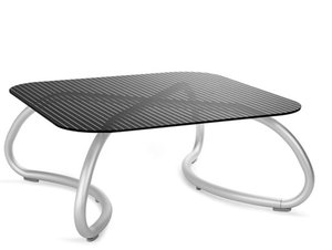 Loto relax tafel vierkant 95 cm van Nardi kleur zwart