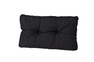 Madison Florance rug lounge kussen rib black 60x40 cm