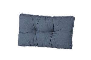 Madison Florance rug lounge kussen rib grijs 60x40 cm