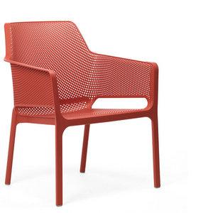 Nardi net relax kunststof stoel  kleur: rood