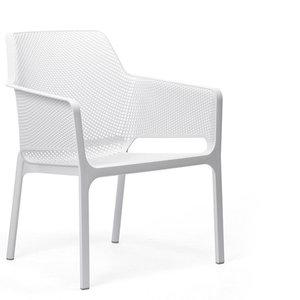 Nardi kunststof stoel Net Relax kleur: wit