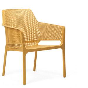 Nardi kunststof stoel Net Relax kleur: senape