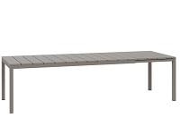Nardi Rio uitschuif tafel 210/280x100 cm kleur: tortora