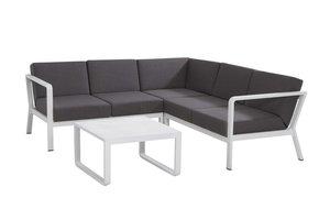 Domino loungeset kleur: wit