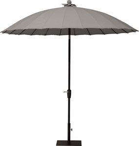 shanghai ronde parasol  rond 3 meter kleur taupe