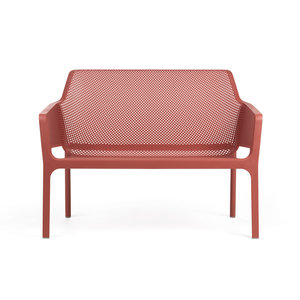 Nardi Net Relax Bank kunststof kleur: rood