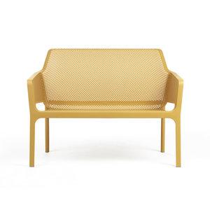 Nardi kunststof Bank Net Relax kleur: senape