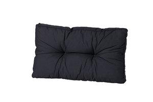 Madison Florance rug lounge kussen basic black/zwart 60x40 cm