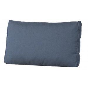 Madison Florance rug luxe loungekussen basic grijs 60x40 cm