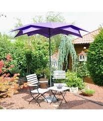 Blute ronde parasol 270 cm, kleur: violet