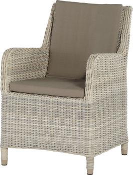 Indigo medium loungestoel 4 seasons outdoor kleur: Provance