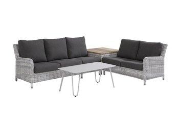 4 seasons outdoor loungeset Indigo 2 hoek opstelling kleur: Ice