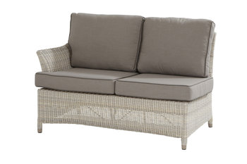 4 seasons outdoor medium 2-zits loungemodule rechts Valentine kleur: Provance