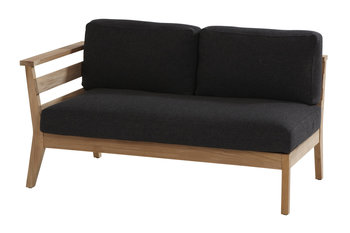 4 seasons outdoor Polo teak 2-zits lounge deel rechts