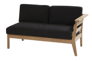 4 seasons outdoor Polo teak 2-zits lounge deel links