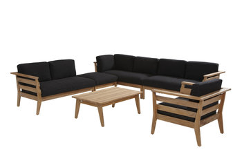 4 seasons outdoor loungeset Polo teak IV