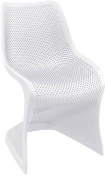 Bloom stoel van Resol kleur: wit
