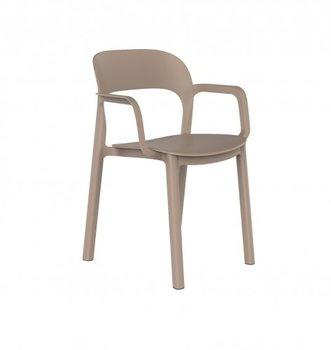Ona kunststof stoel van Resol kleur: sand