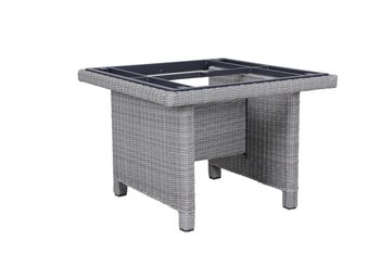 Kettler Palma modulair tafel, 95x95 cm white wash