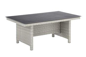 Kettler Palma modulair tafel, 160x95 cm salt 'n' peppa