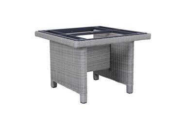 Kettler Palma modulair tafel, 95x95 cm salt 'n' peppa