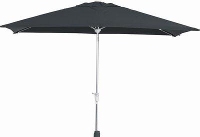 vierkante parasol madera 250x250 cm, kleur antraciet