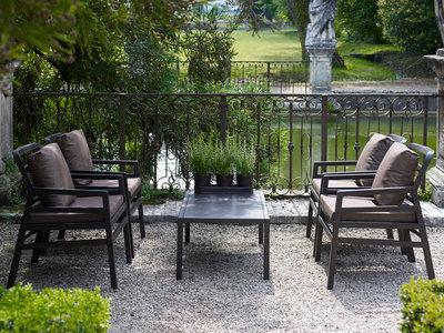 Nardi Aria loungeset met Aria 100 tafel