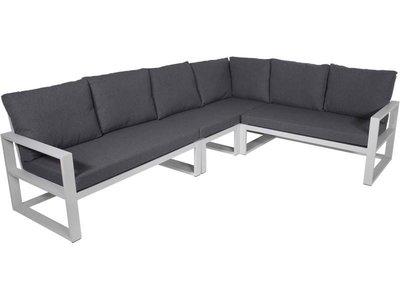 Loungeset Pina Colada aluminium textyleen antraciet