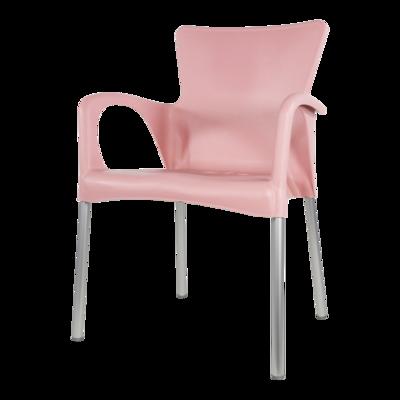 Bella stapelstoel van Lesli living roze