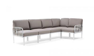 Nardi outdoor Komodo modulaire kunststof loungeset wit