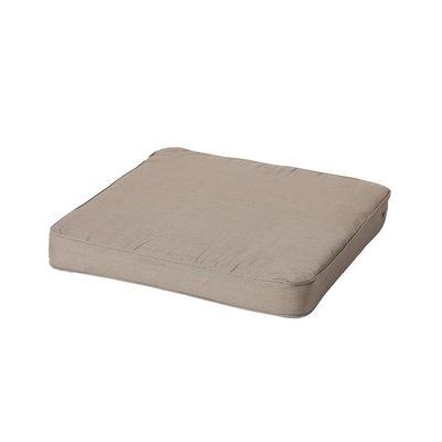 Madison loungekussen basic taupe 60x60 cm