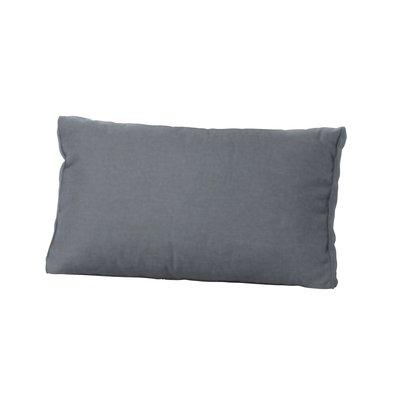 Madison loungekussen basic grey 60x43 cm